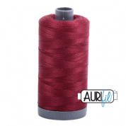 Aurifil 28 Cotton Thread - 2460 (Burgundy)
